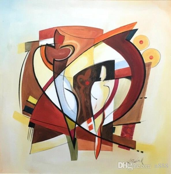 Alfred Gockel - cambio de las estaciones Decoración Artesanías / impresión de HD pintura al óleo sobre lienzo arte de la pared de la lona representa 19