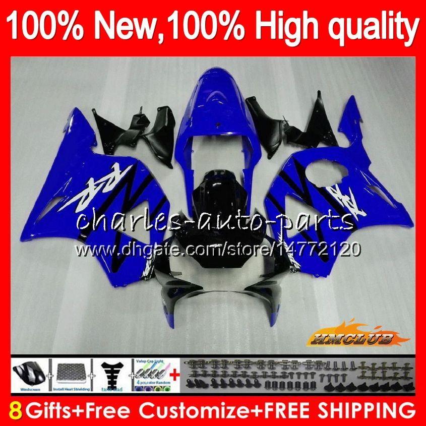 OEM Körper für HONDA glänzend blau CBR 954 900 RR CC 900cc CBR900 CBR954 RR 77HC.114 CBR 900RR 954RR CBR900RR CBR954RR 02 03 2002 2003 Fairings