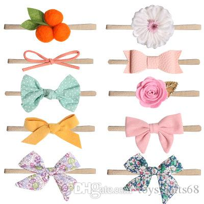 accessori per capelli foto dei bambini rosa fiori femminili bambino fascia dei capelli del commercio estero fascia bellezza piena nuovo arco