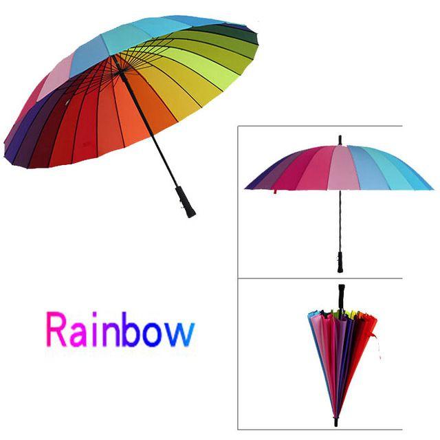 24K المرأة مظلة شمسية المشي عصا ذكر مظلة مطر المرأة مطر مكافحة المظلات غواردا Chuva Paraguas Parapluie Sombrinha