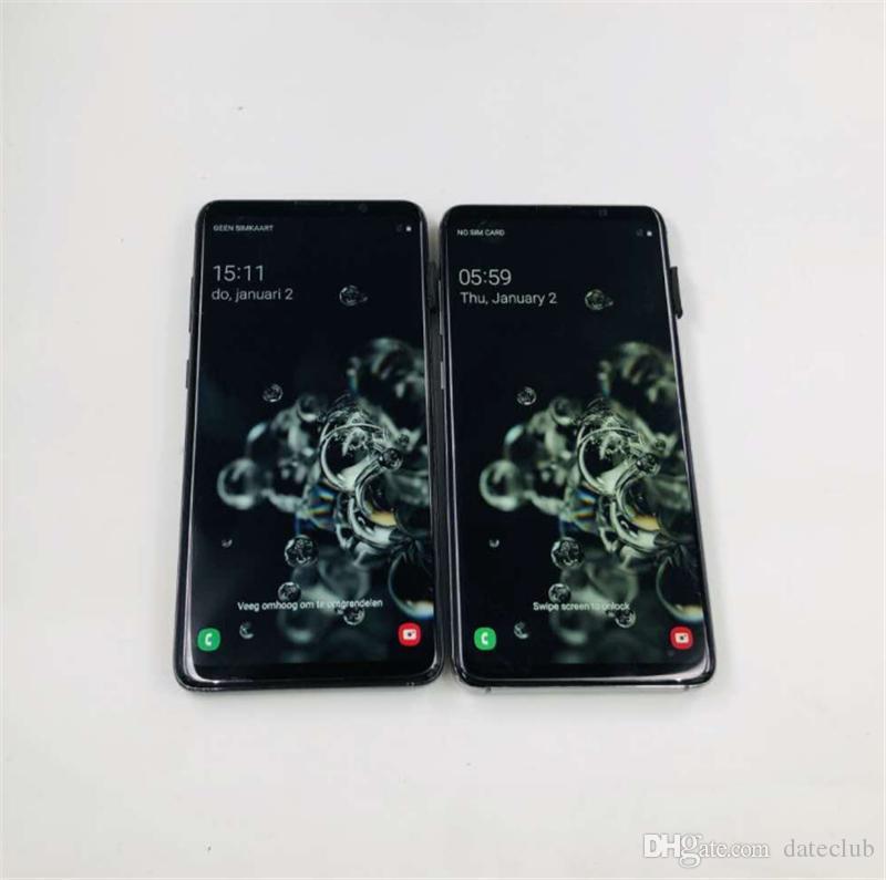 "Goophone S20 6.7inch Ultra 5G V5 Octa Núcleo S20 + Android 10 6.7"" Punch-buraco no celular tela cheia face ID Fingerprint 4G LTE GPS s10 Nota 10"