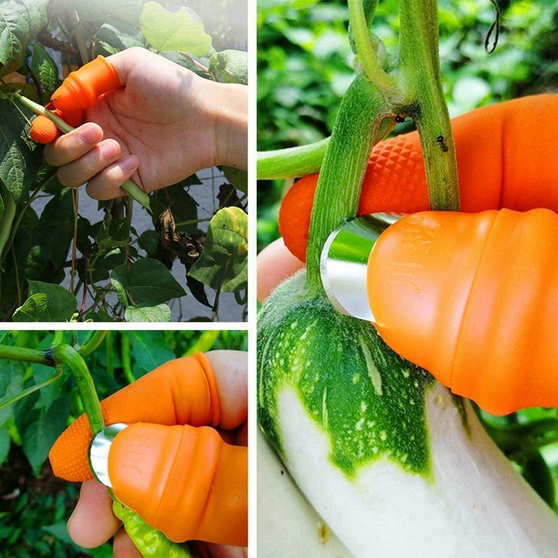حديقة الإبهام الخضروات سكين الفاكهة بسهولة أدوات الإبهام المنتقى النبات فاكهة بليد فاصل المنتقى الحديقة الحديقة