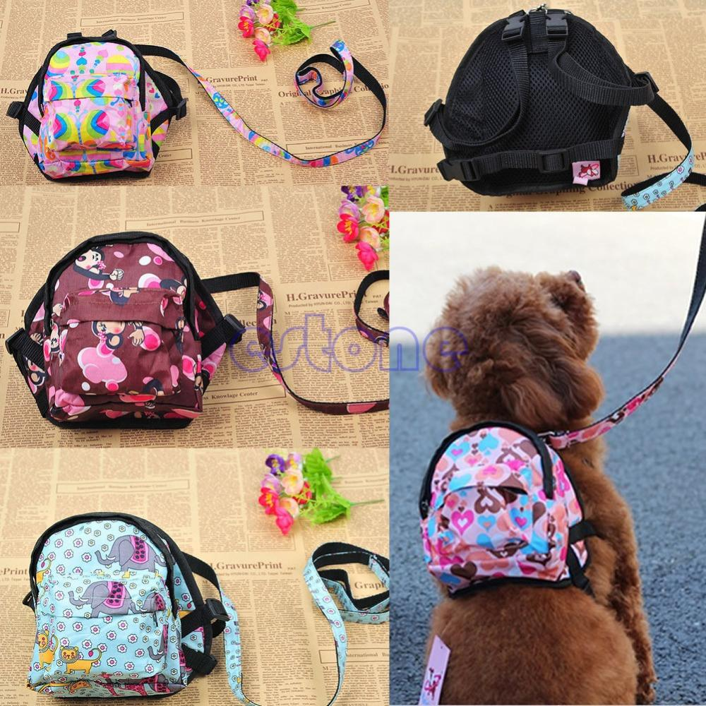 PET PERRO BOLSA DE PERRO MUCHACHA Carrier de viaje al aire libre para perros Puppy Cats con mochila correa transpirable Bolsas de mascotas Portador de hombro