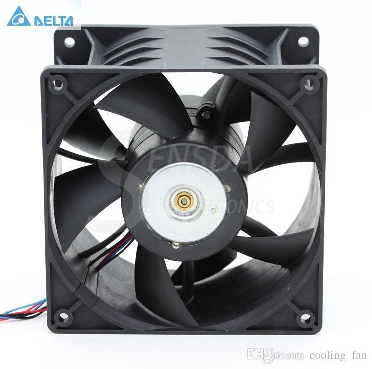 Delta Ventiladores GFB1248VHW 12076 120mm 12 cm DC 48 V 0.93A 6 -pin ventiladores de refrigeração axiais industriais