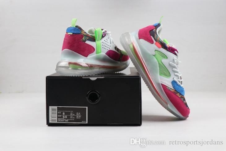 Großhandel 2019 Nike Air Max 720 OBJ Running Schuhe Für Herren New Colorways Hyper Pink Desert Ore Light Bone Weiß Schwarz Odell Beckham Jr. Running