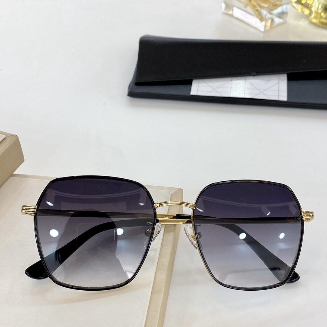 2020 neuer Sommer-heißen Verkauf Sonnenbrille Temperament 100% Strahlenschutz voller Bilderrahmen 8202 Mode Luxus retro Brille