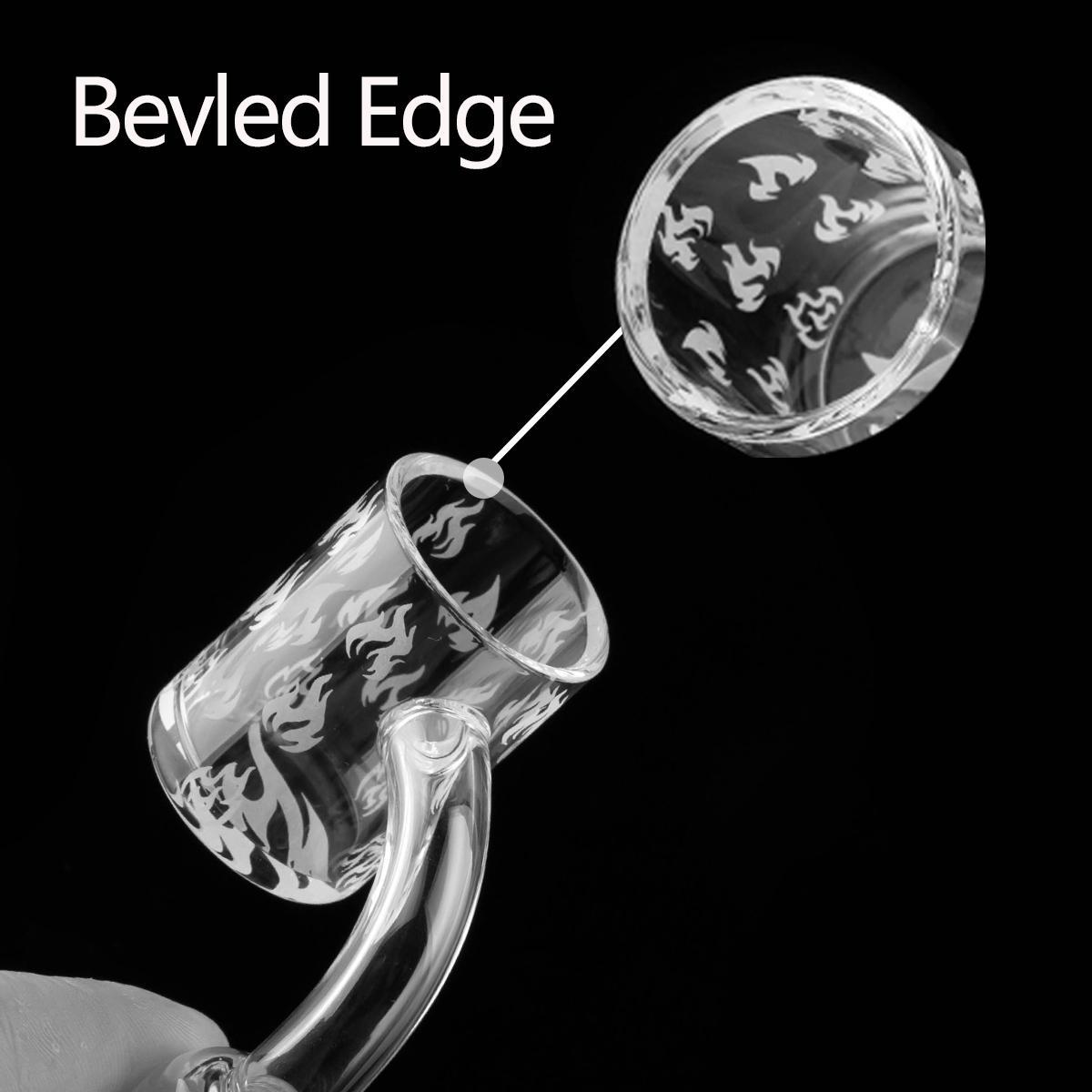 100% Réel Quartz Banger Femelle Mâle Degrés quartz 10mm 14mm 18mm Ongles Sans Domicile 90 Degrés Quartz Danger Nail Dab Rig