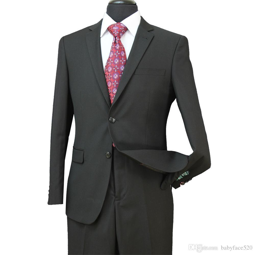 Neue formale Hochzeit Männer Smokings UTRA Slim Fit Bräutigam Smoking für Männer Zweiteilige Groomsmen Anzug Günstige Jackets + Pants