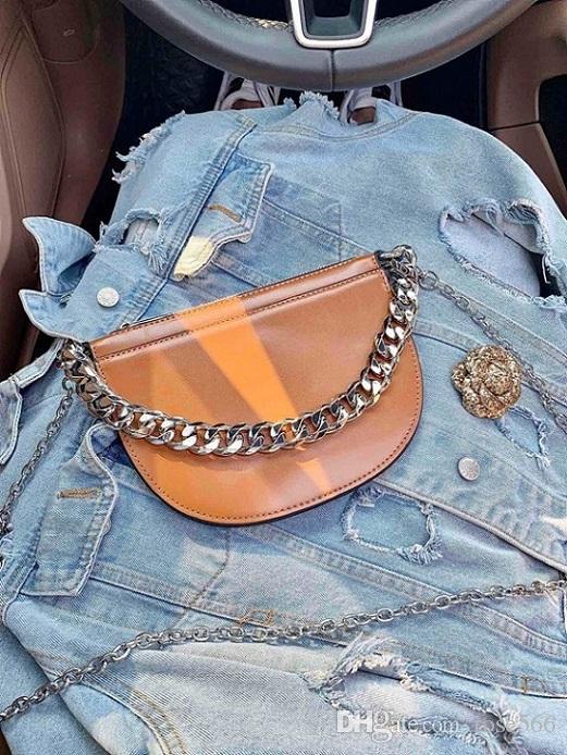Marke Taschen neue Mode Frauen kleine Umhängetasche Marke Satteltasche Kette Umhängetasche designer Handtaschen Geldbörsen