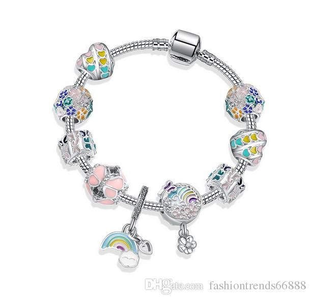 Tree of Life Charm with clasp per 1 pc Sterling Silver Charm Bracelet Charms