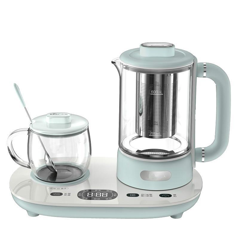 220V 600w 0,6 + 0,3 L automática eléctrica de múltiples funciones pote Salud La caldera de té 12 horas fabricante de aislamiento Cita con filtro 304
