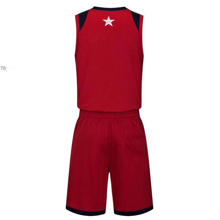 2019 novo jerseys de basquete em branco impresso logotipo mens tamanho s-xxl preço barato transporte rápido de boa qualidade vermelho escuro dr004nh