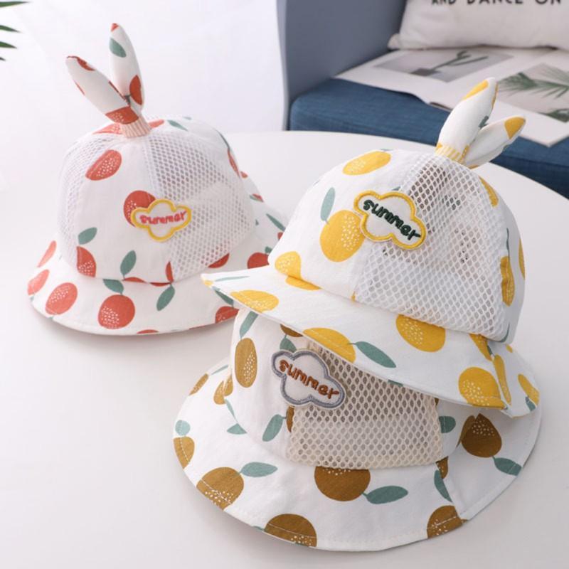kids children 2020 Toddler Baby Kids Boys Girls Floral Pattern Bucket Hats Sun Helmet Cap Summer accessories