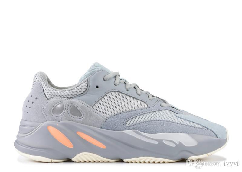 2019 versão 700 inércia EG7597 homem mulheres correndo tênis Kanye West autêntica qualidade com caixa original ao ar livre sapatos US5-12