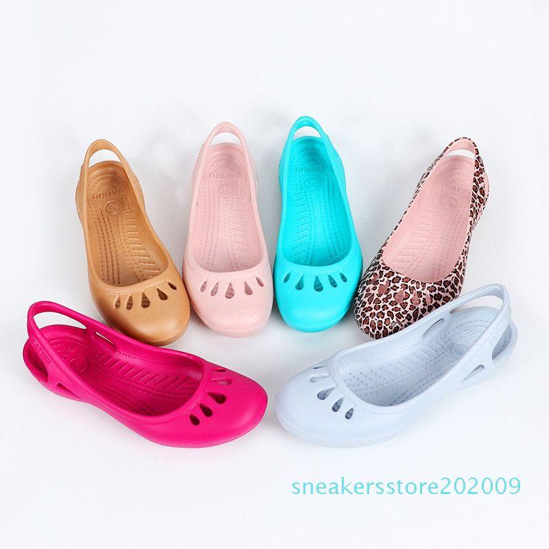 Пляжная обувь женщины сладкие сандалии летние женщины сладкие сандалии смолы клинья сандалии размер 35-40 s09