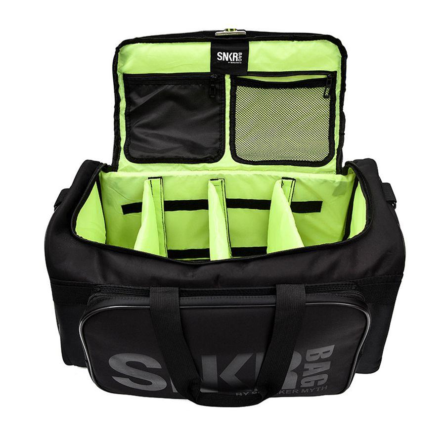 Gran compartimiento múltiple entrenamiento deportivo bolsas de deporte hombres Duffel Holdall impermeable de viajes de vacaciones correa de hombro bolsa 55L