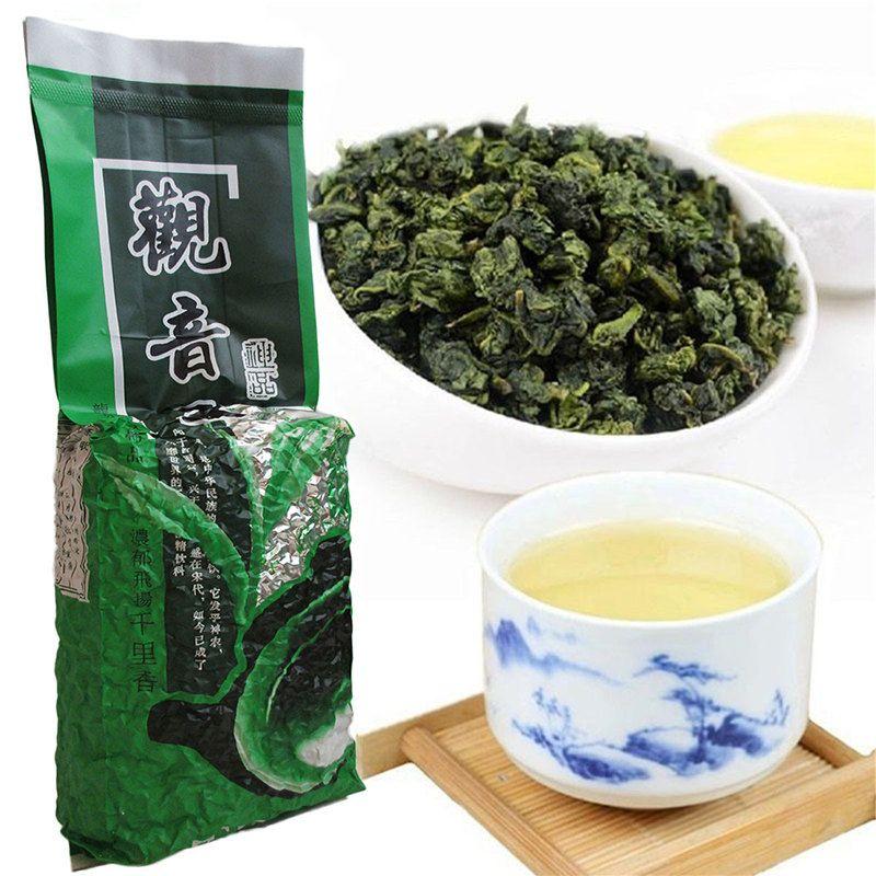250g ventas caliente de té chino orgánico de Oolong auténtico sabor Rima Anxi Tieguanyin Nueva Primavera té verde de alimentos saludables