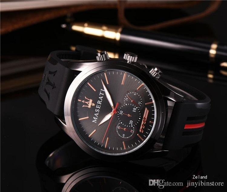 Women Mens Watches Silicone Steel Quartz Wristwatches Stopwatch Luxury Watch Top Brand Relogies For Men Relojes Best Gift