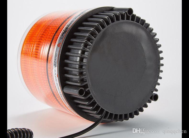 유니버설 DC12V 고성능 차량 자석 장착 차량 경찰 경고 라이트 LED 점멸 표지 / 스트로브 비상 조명 램프