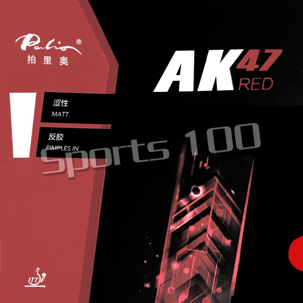 Sports & Entertainment Palio 47 AK-47 AK 47 RED Matt Pimples in PingPong Table Tennis Rubber With Sponge The new listing 2.2mm H45-47