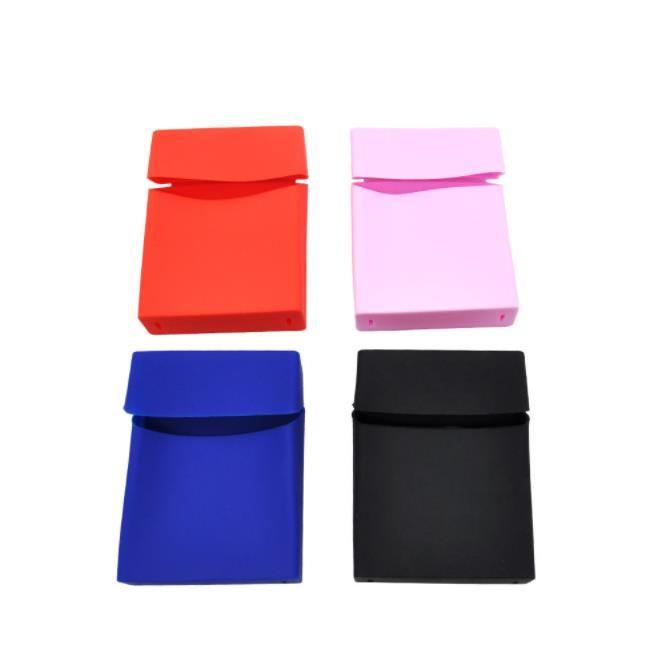 Fabrik direkt zigarettenschachtel quadratische box reine farbe aufbewahrungsbox