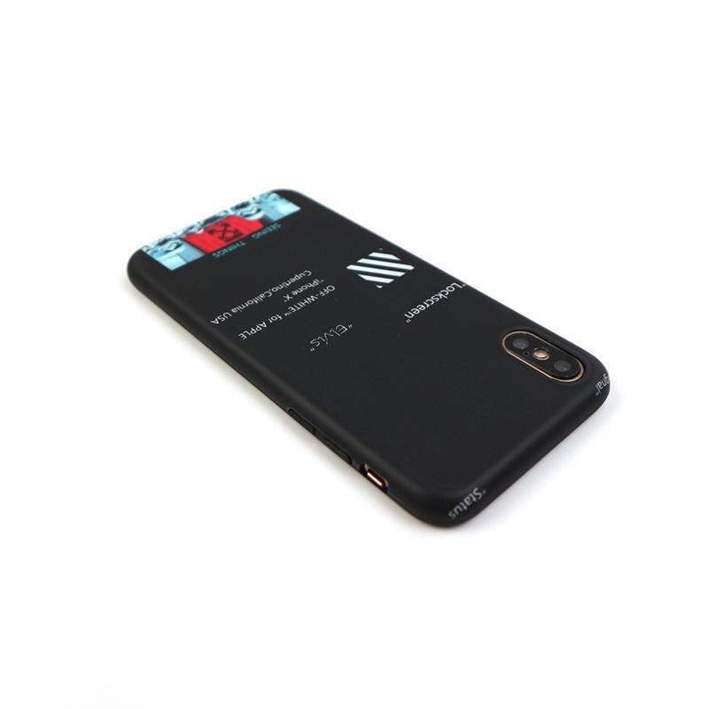 Accesorios De Celular Moda Letra Inglesa Flecha Blanca Funda De