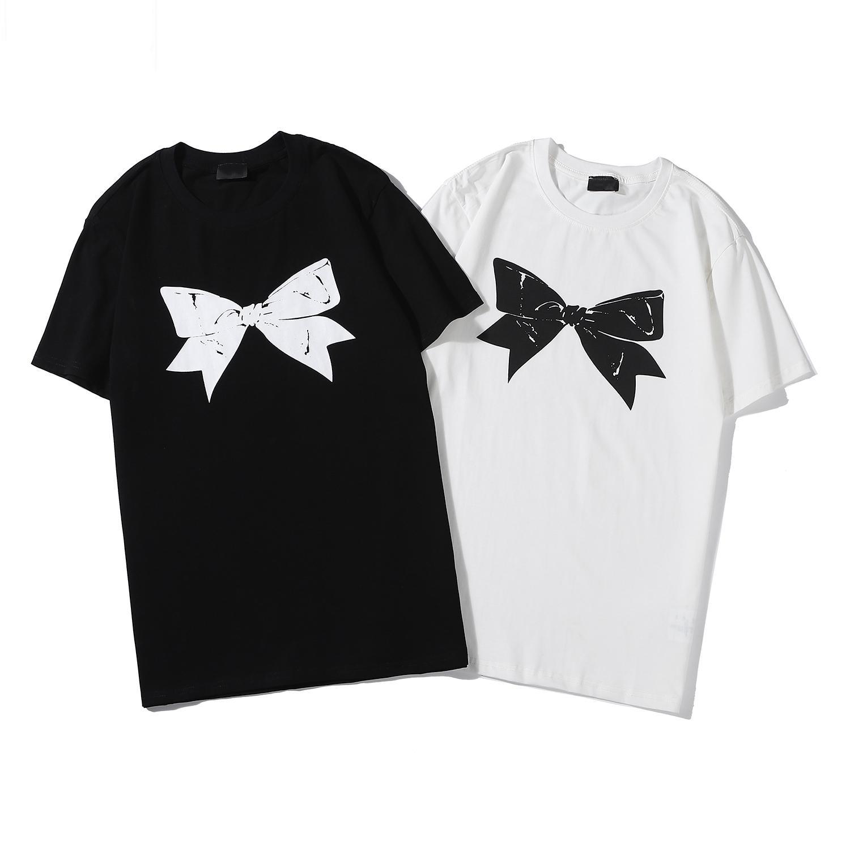 2020 üst kadın tasarımcı T Shirt yaz rahat LadyLoose Tees mektuplar baskı Yuvarlak boyun kısa kollu Pamuk Blend lüks S-2XL