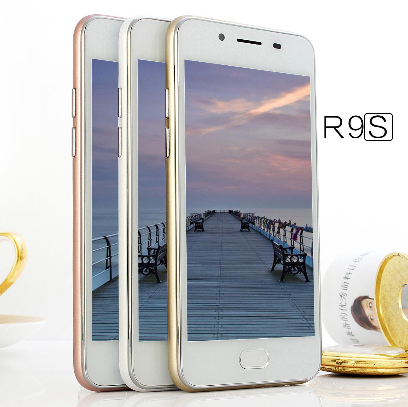Online Retailers Mobile Phone 4.5 Inch Screen R9 Mini Appearance 3g Intelligence Mobile Phone