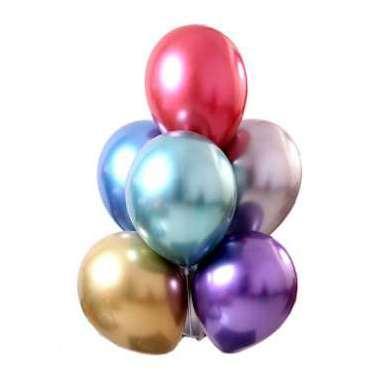 50 peças de 12 polegadas Metallic Latex Balloons festa de aniversário decorações Balões de ar Nova Fotografia Decoração Alta Qualidade do Ar Balls Chegada Nova