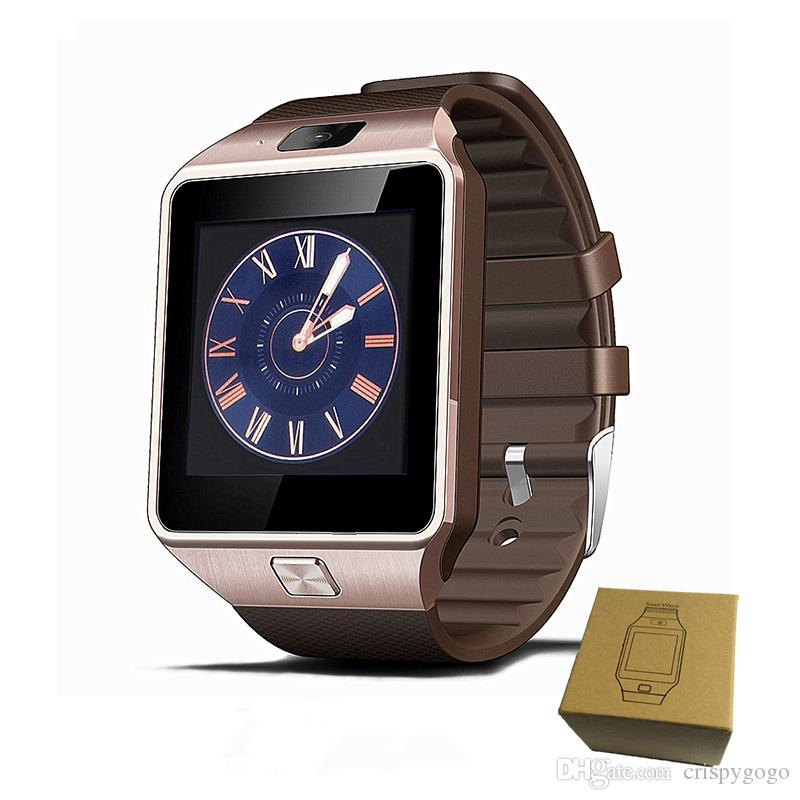 DZ09 Smart Watch Bluetooth Smartwatch mit Kamera-SIM-Karte Für Apple Android-Handys iwatch SIM Intelligente Dz09 Uhr mit Kleinpaket