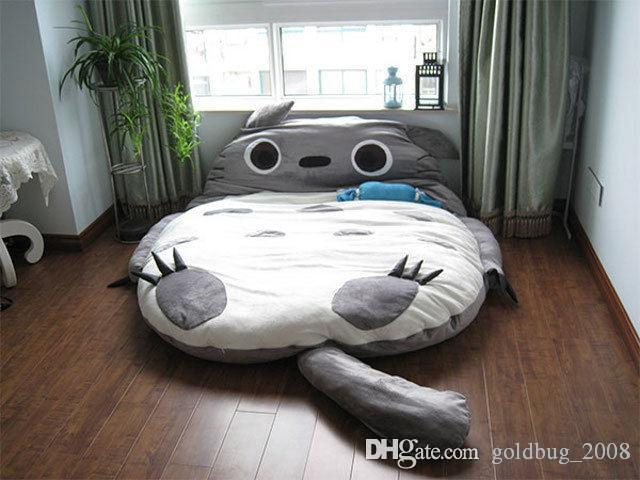 290*160cm Huge Comfortable Cartoon Totoro Bed Sleeping Bag Pad Christmas