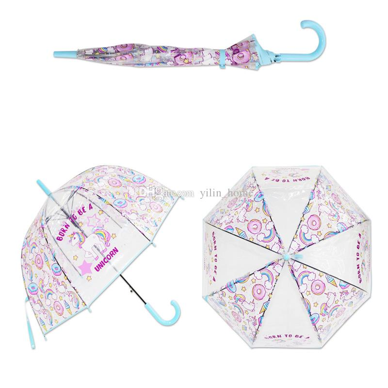 유니콘 Umbrellas Windproof Umbrellas 써니와 우산 Lady 's 자동 우산 4 색을 무료로 이용하실 수 있습니다.