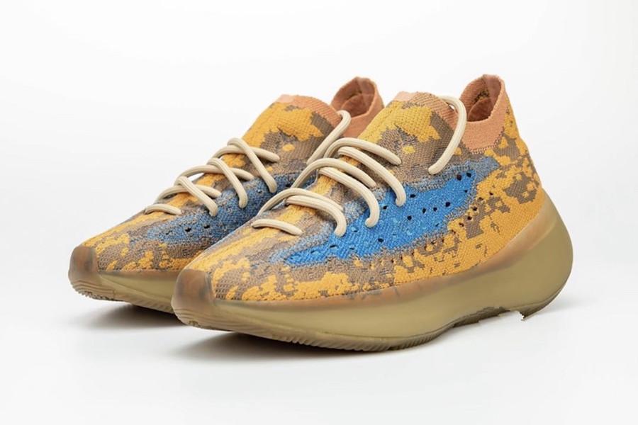 جديد 380 الأزرق الشوفان عاكس basf الرجال النساء الجري الحذاء مع مربع 2020 كاني ويست 380 ميست الرياضة أحذية رياضية الحجم 5-12