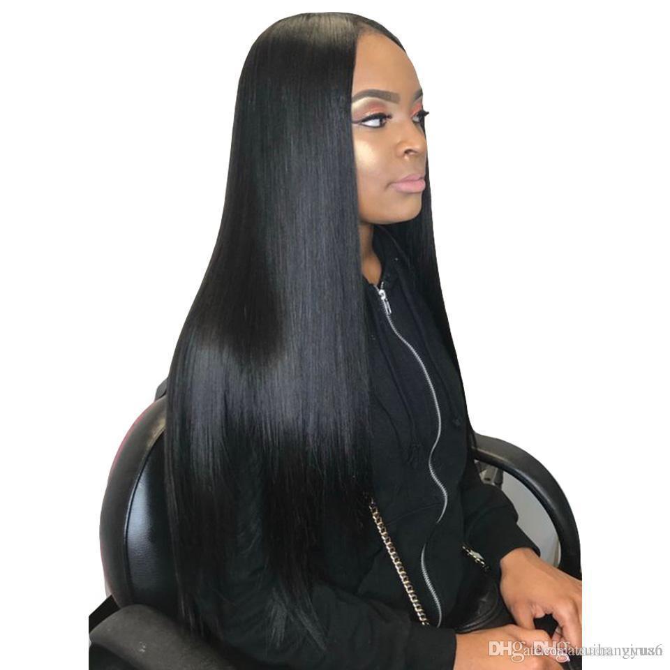 1b # Couleur synthétique tressée dentelle perruques avant pour les femmes résistant à la chaleur fibre perruques cheveux haut de gamme Braid perruque