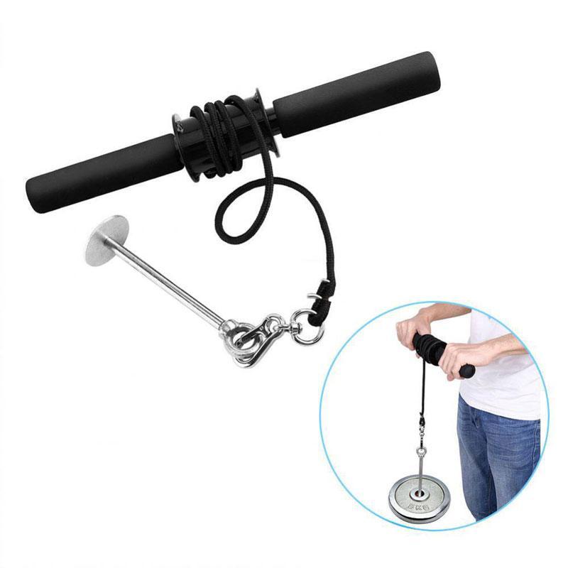 Gym Fitness Unterarm Trainer Stärkungshandgreifer-Stärken-Prüfverfahren Gewicht Hebeseil