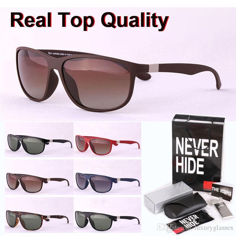 1pcs al por mayor - los hombres de calidad superior de la marca gafas de sol polarizadas las mujeres vidrios de sol gafas con la caja original, paquetes, accesorios, todo!