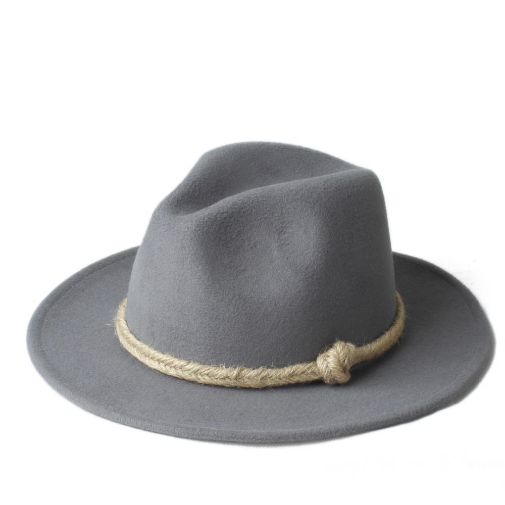 Marca de verão vtg das mulheres dos homens chapéu feminino chapeu de sol para cavalheiro de lã de aba larga jazz cap igreja chapéu fedora top sunhat
