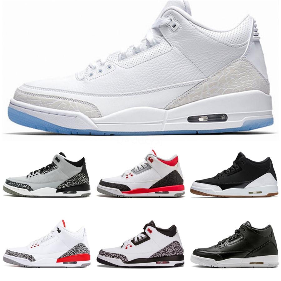 2020 nueva llegada Bred Zapatos pálido Citron tatuaje 3 Iv 3S baloncesto de los hombres Pizzeria escoge día de regalías hombre del negro del gato entrenadores deportivos zapatillas de deporte # 95