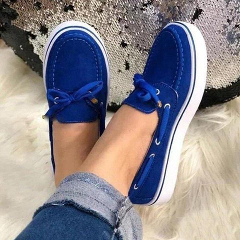 artı numara ayakkabı PU deri gladyatör chaussures femme zapatos mujer Sapato D865 kadın daire rahat ayakkabı kadın flatform dantel yukarı