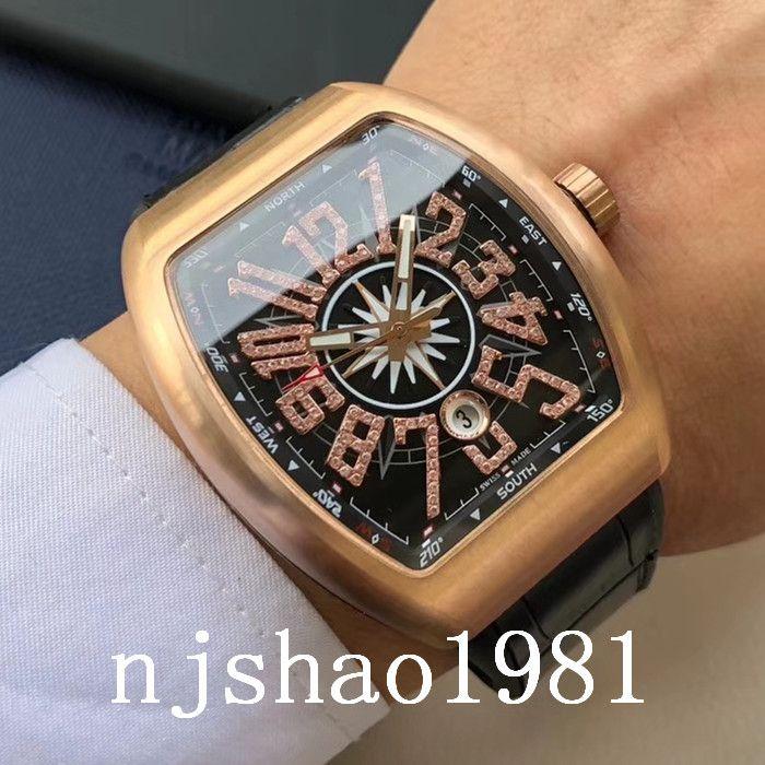 Homens Best Sport WristWatches Inoxidável Montres Luxo Mecânica Automática Qualidade Aço de 2020 relógio relógio relógios relógios Mens bcfqq