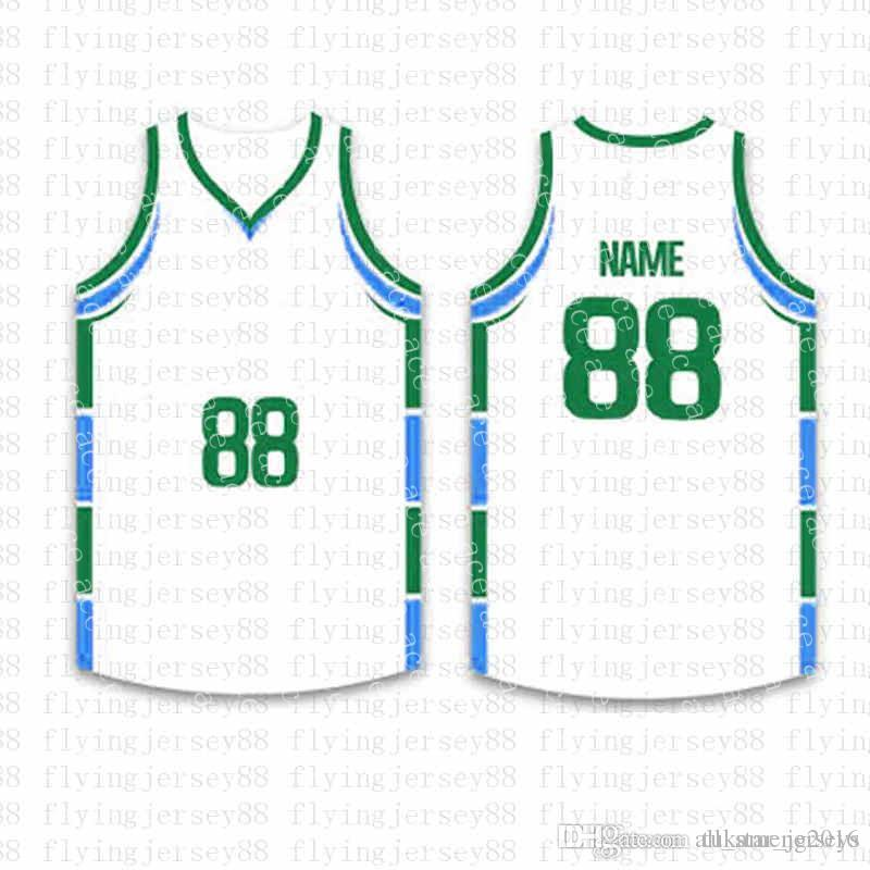 قمة كرة السلة مخصص الفانيلة رجل التطريز شعارات جيرسي شحن مجاني رخيصة بالجملة أي اسم أي عدد الحجم S-XXLhs 5