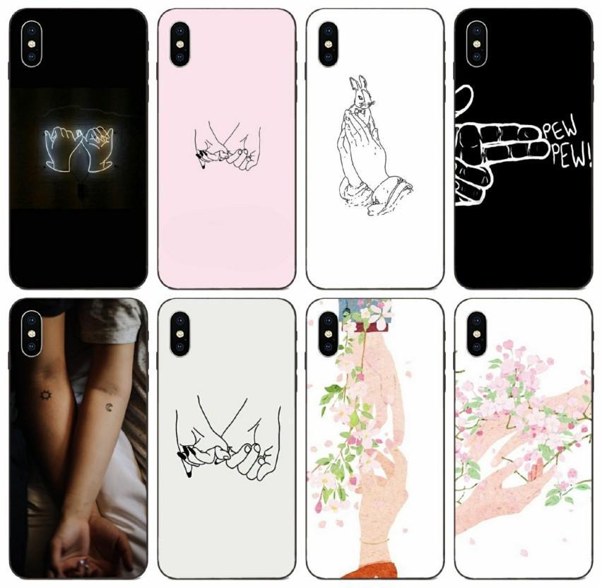 [TongTrade] Pinkie Promise cas pour l'iPhone 11 Pro 8 7 6s 6p 5p 5s X XS Max Samsung A10 A10e A10S Huawei GR3 GR5 2017 LG G2 Mini customisés