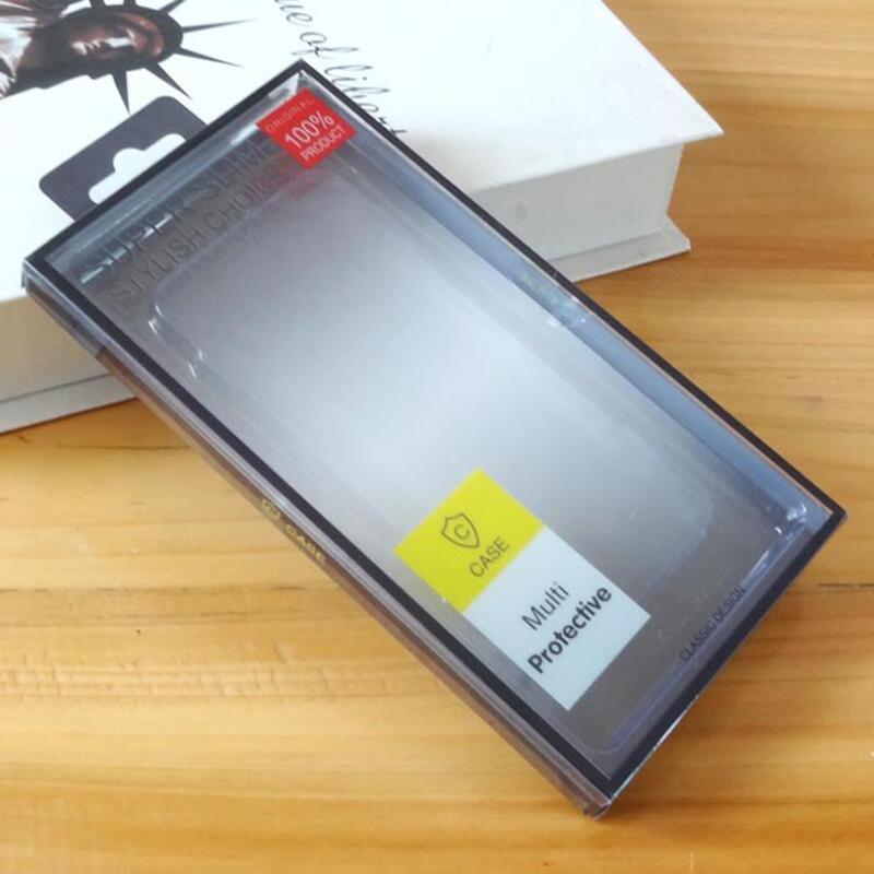 삼성 S20 S9 S10 플러스 아이폰 (11) 프로 XS 최대 플러스 물집에 대한 보편적 인 PVC 전화 케이스 소매 포장 상자