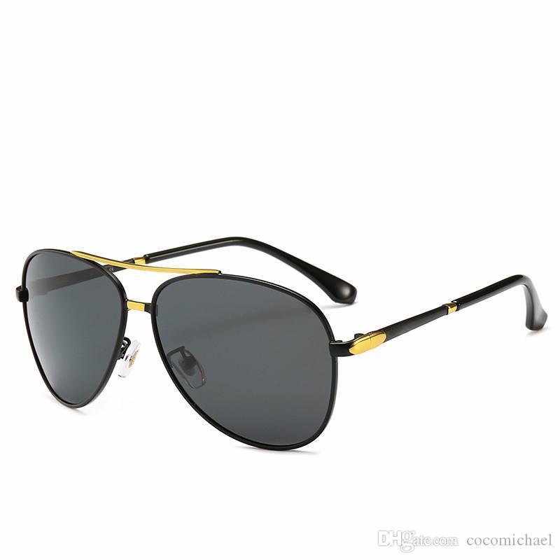 2019 جديد مصمم نظارات ماركة نظارات ماركة ظلال الهواء في الهواء الطلق إطار الأزياء الكلاسيكية الفاخرة النظارات الشمسية المرايا للرجال 10012