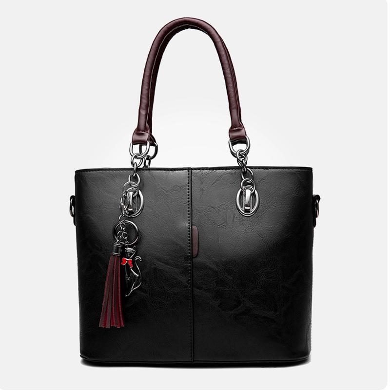 Kadınlar Çanta Vintage Casual Bez Moda Kadınlar Omuz Çantaları Telefon Paketi PU Deri tasarımcı lüks çanta çantalar