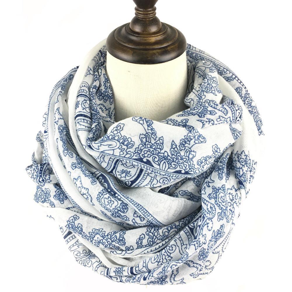 Мода-Bruceriver Женской Paisley печать шарф