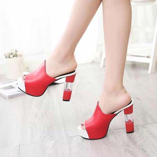 saltos das mulheres calçam sandálias de alta qualidade das sandálias Huaraches dos falhanços Loafers sapato para chinelo shoe06 PL1959