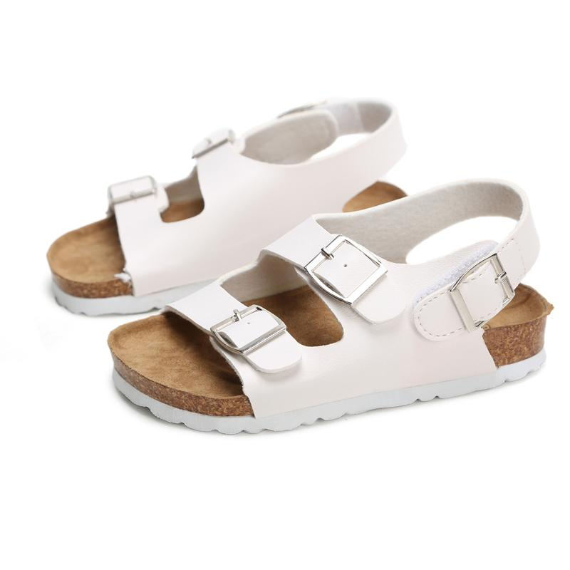 Sandals Child Footwear For Children Sandals Girls And Boys Sandals Breathable Flats Shoes Summer Comfortable Leather Sandal Y19051403