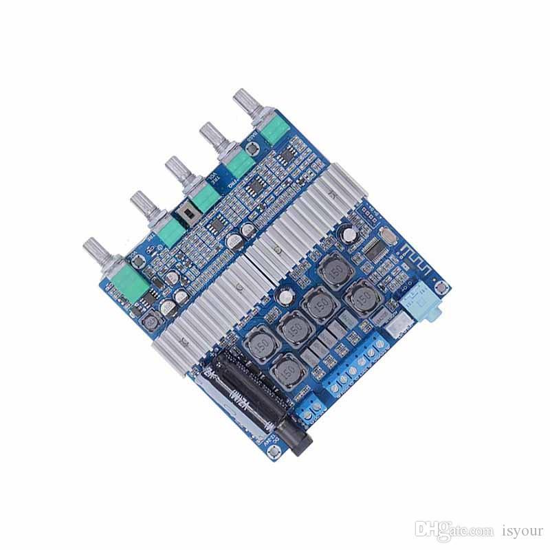 Freeshipping TPA3116 etooth 4.2 Verstärkerplatine High Power 2.1 Subwoofer Digital Verstärkerplatine 12-24V 50W + 50W + 100W 3 Kanalausgang