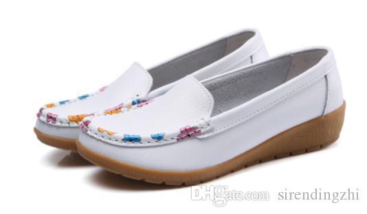 Envío gratis 2018 Spring new style flat bottom Zapatos de mujer @ 101